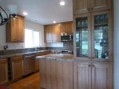 granite countertop remodel